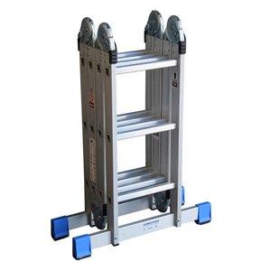 Alumexx Alumexx Multi vouwladder - trap -  steiger met inlegbordes - 990608997 - 3