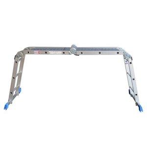 Alumexx Alumexx Multi vouwladder - trap -  steiger met inlegbordes - 990608997 - 1