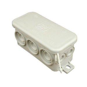 HEVU TOOLS Universeel kabeldoos kunststof IP55 grijs FD10S