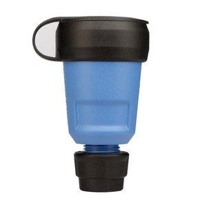 ABL ABL PVC contrastekker met wartel + randaarde blauw