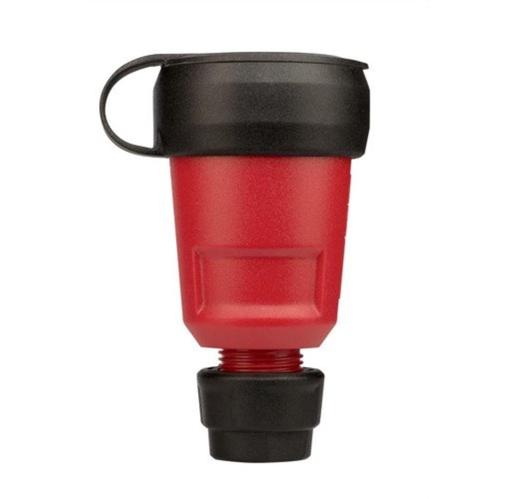 ABL ABL PVC contrastekker met wartel + randaarde rood