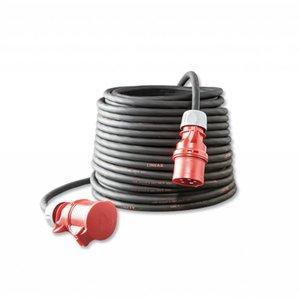 Keraf Keraf CEE Verlengkabel 25 meter 5x2,5 mm² 16A 5-polig 400V - N2550250215 - 106992