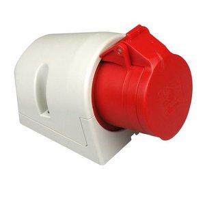 ABL ABL CEE wandcontactdoos 16A 5-Polig rood - D51S31