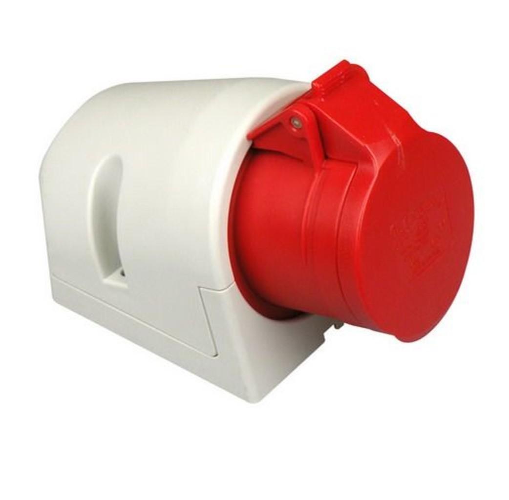ABL ABL CEE wandcontactdoos 32A 5-Polig rood - D52S31