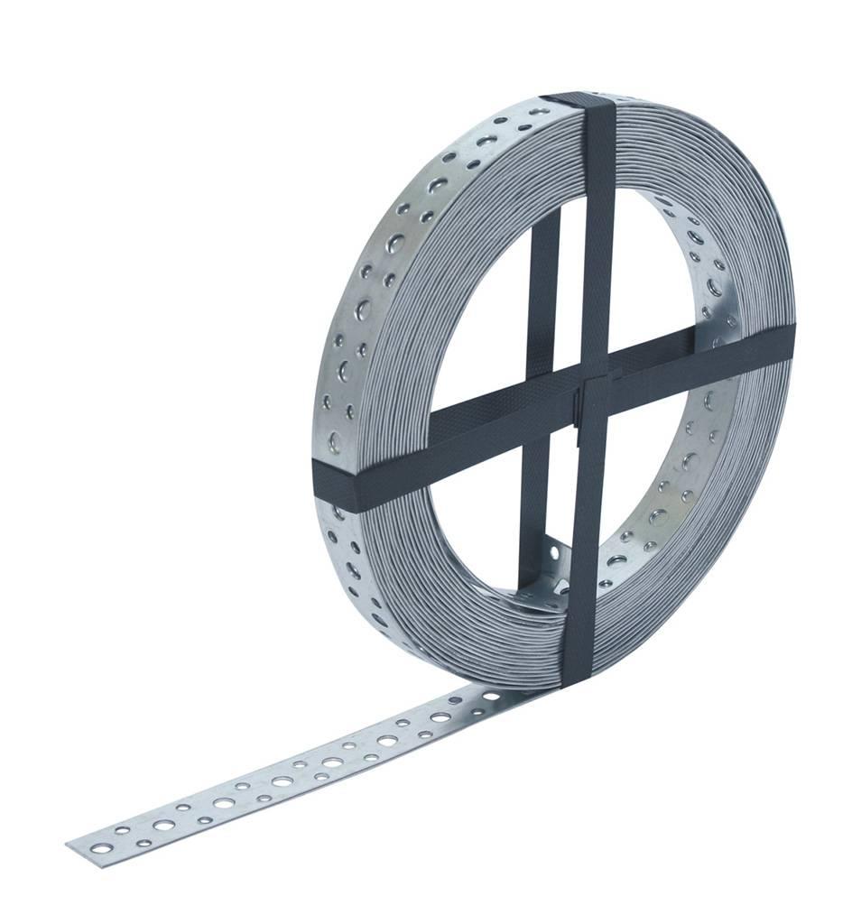 Gebr. Bodegraven GB Montagestrip/ spijkerband verzinkt 20x1.0 - 25 meter - 17295455