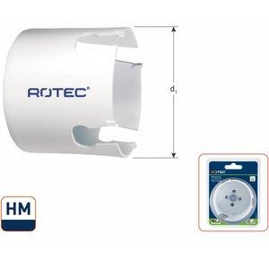 Rotec Rotec MP-Gatzaag HM  - Ø19 t/m Ø133 mm - hout en steen