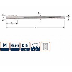Rotec Rotec HSS Machinetap metrisch lang M3 - M12