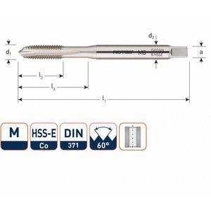 Rotec Rotec HSS-E OPTI-LINE machinetap metrisch doorlopend M3 - M10