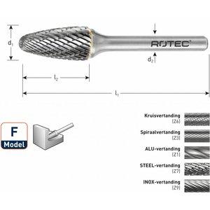 Rotec Rotec HM Stiftfrees boomvorm ronde kop model F (RBF)