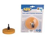Hpx HPX Tape & strepen verwijderaar - kunststofschijf + as - ZCRE04
