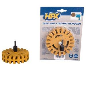 Hpx HPX Tape & strepen verwijderaar - schijf + as - ZCRE07
