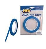 Hpx HPX Fine line afplaktape - lineerband - 9 mm x 33 m blauw - FL0933