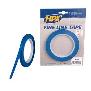 HPX tapes HPX Fine line afplaktape - lineerband - 9 mm x 33 m blauw - FL0933