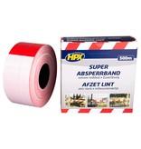 Hpx HPX Super barrier tape - Afzetlint rood wit 80 mm x 500 m - BS80100