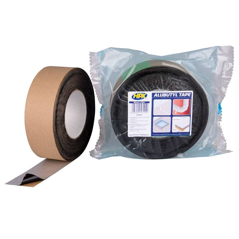 Hpx HPX ALUButyl Afdichtings tape 50 mm x 20 meter - AY5020