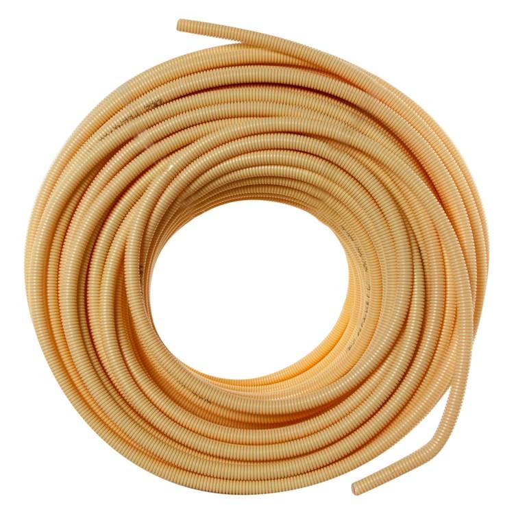 Pipelife Pipelife Installatiebuis Flexibel - slagvast - flexivolt Ø5/8 - 16 mm geel - 100 meter - 01.474.50