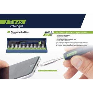 Tirax Tirax 77120-029 Precisie bitset - 29-delig