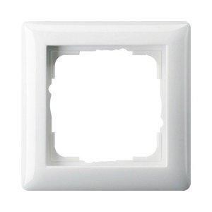 Gira Gira 021103 Afdekraam 1-voudig - standaard 55 - zuiver wit glanzend