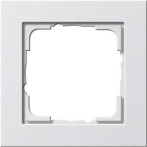 Gira Gira 021122 Afdekraam 1-voudig - E2 - zuiver wit mat
