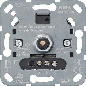 Gira Gira 245000 Basiselement universele  LED druk/ draaidimmer - system 3000