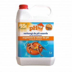 Bsi BSI pH up liquid - vloeibaar verhoger - 5 liter - 6289