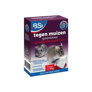 Bsi BSI Generation Grain'tech graanlokaas - muizengif 2x25 gram - 64215