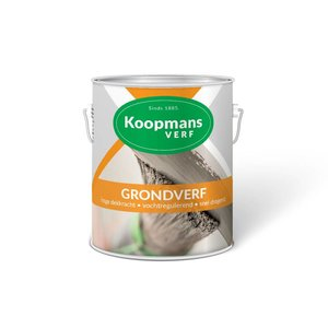 Koopmans Koopmans Grondverf 229 donkergrijs 2,5 Liter