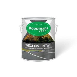 Koopmans Koopmans Wegenverf wit 250ML