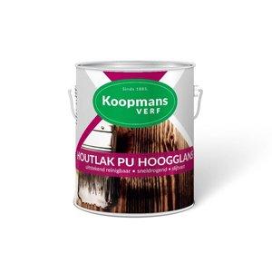 Koopmans Koopmans Houtlak PU Hoogglans blank 250ML/ 750ML/ 2,5 Liter