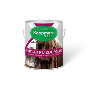 Koopmans Koopmans Houtlak PU zijdeglans blank 250ML/ 750ML/ 2,5 Liter