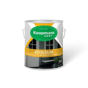 Koopmans Koopmans Ecoleum verf 225 Zwart/ bruin 1L/ 2,5L