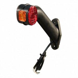 Aspöck Aspöck Contourlamp Superpoint II - links - rood / wit / oranje - DC kabel 1000 mm