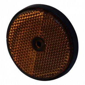 Radex Radex Reflector oranje - Ø61 mm - opschroefbaar