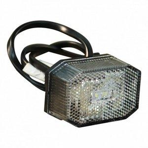 Aspöck Aspöck Flexipoint breedtelamp LED - wit - DC 0,5 meter