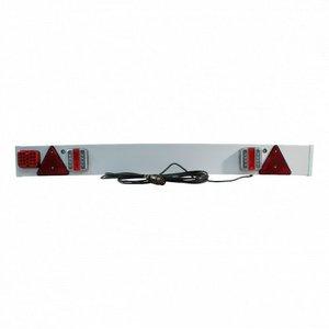 Lichtbak LED kunststof - 137 cm - kabel 6 meter 7-polig