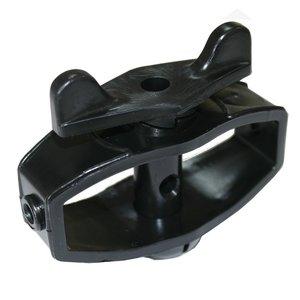 Koltec Koltec Draadspanner versterkt kunststof - zwart - 2 stuks - 162-80150-2zw