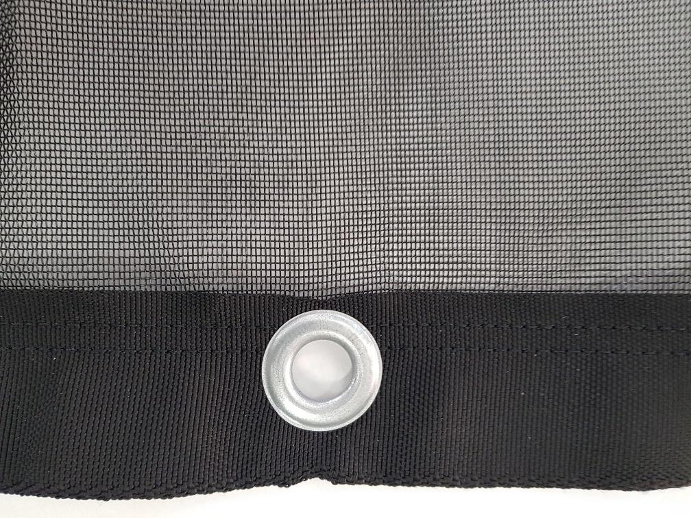 Cover Cover PE Aanhangernet fijnmazig extra - 1.50 x2.00 m - 200 gr/m² - zwart