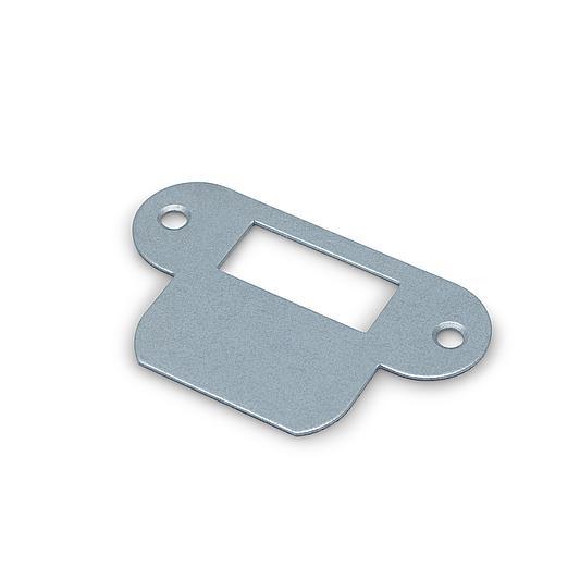 Dulimex Sluitplaat voor loopslot rondhoekig - staal -  SLPR LS