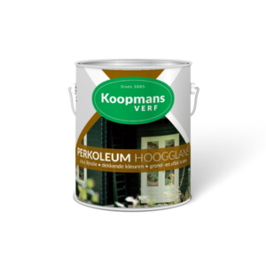 Koopmans Koopmans Perkoleum hoogglans 9010 echt wit 750ML