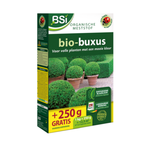 Bsi BSI Bio-buxus meststof - 1,25 kg / 12,5 m² - 20379