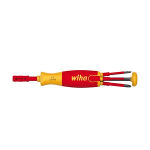 Wiha Wiha SB 2831 09 023 Schroevendraaier met bitmagazijn - LiftUP Electric magnetisch - 6-delig - 41235