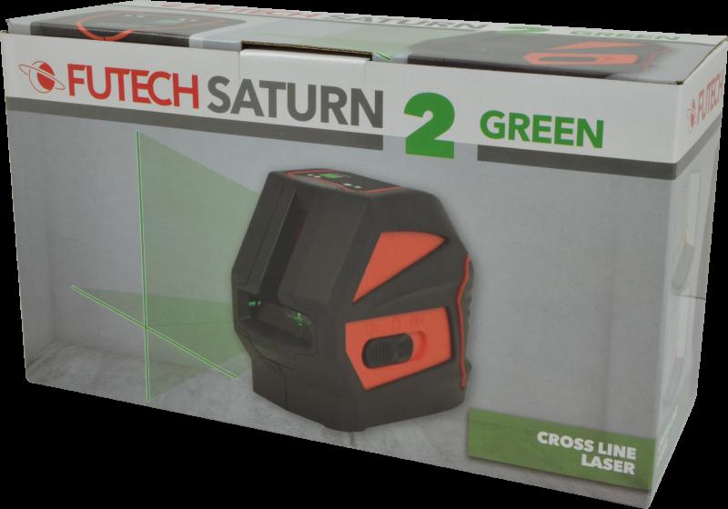 Futech Futech kruislijnlaser Saturn 2 - groen - 010.02.G