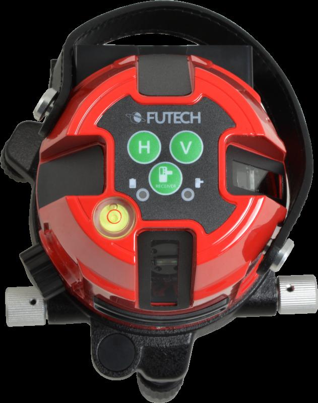 Futech Futech kruislijnlaser Multicross 3 DL - Li-Ion - groen - 048.03