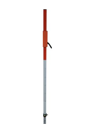 Futech Futech Laseremeetlat - laserbaak met snelspanklem - 240 cm - 140.240.SK