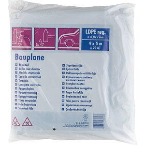 Color Expert Color Expert Bouwfolie LDPE 0,075 mm - 4x5 meter (20m²) - zwart - 96927510