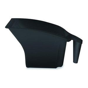 Color Expert Color Expert Verfbak met handvat - kunststof - 2 liter - zwart - 84835010