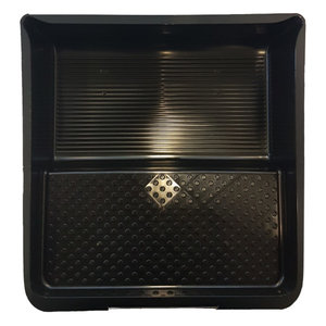 Color Expert Color Expert Verfbak 32x36 cm (nopjes) tbv 25 cm rol - kunststof - zwart - 84802510