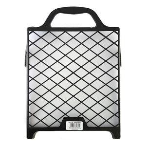 Color Expert Color Expert Verfrooster 12x18 cm - kunststof - zwart - 84833010