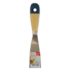 Color Expert Color Expert Plamuurmes 40 mm gepolijst - houten greep - 91120499