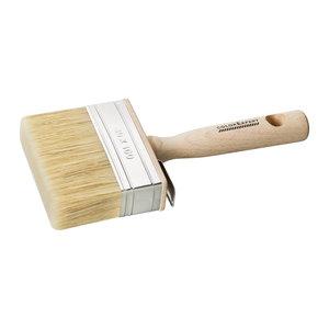 Color Expert Color Expert Blokwitter muurverf 100x30 mm - wit haar - FSC® houten greep - 83091199